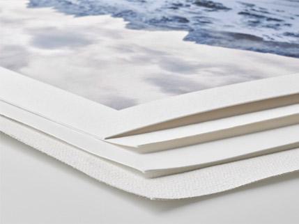 Finearpapier verschiedene Sorten Foto drucken fineartprinting