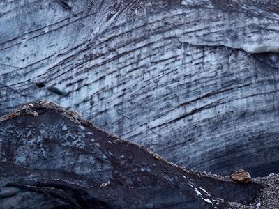 fineartprint von fineartprinting in pfaeffikon zeigt gletschereis als macrofoto