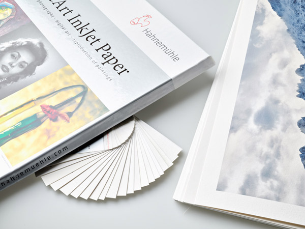 Fineartpapier Fotopapier Fotodruck Papierauswahl Hahnemuehle